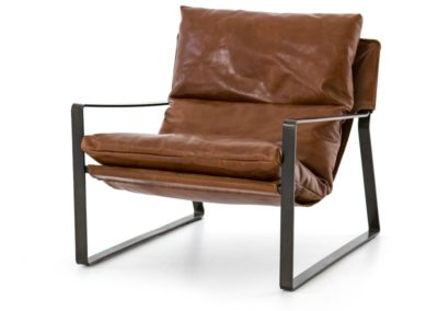 EMMETT SLING CHAIR - DAKOTA TOBACCO
