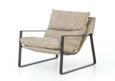 EMMETT SLING CHAIR - UMBER NATURAL