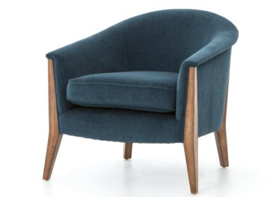 NOMAD CHAIR - PLUSH AZURE