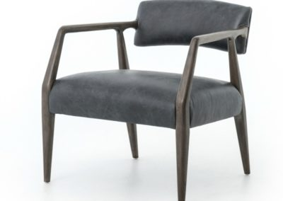 TYLER ARM CHAIR - CHAPS EBONY